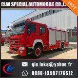 送信権のたくさんの供給のためのHOWO 3000gallons 12cbmの消火器タンク消火活動のトラック