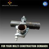 Tubo de acero andamios y montaje de la construcción de gas de petróleo