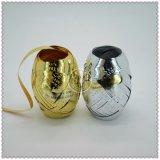 Personifiziertes dekoratives Schein-Weihnachtsfarbband-Ei