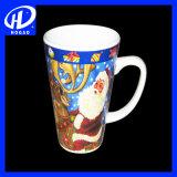 Кружки рождества высокого качества керамические с конструкцией Санта