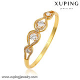 51565 Fashion Zircon 24k pulseira de joalheria banhada a ouro para mulheres