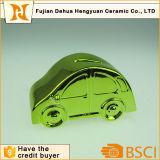 Plating Car formó el banco de moneda de cerámica para el regalo de escritorio