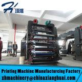 Machine d'impression à grande vitesse non tissée de film plastique de papier de roulis de sac de tissu de constructeur chinois