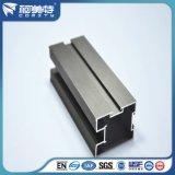 Perfil de aluminio anodizado gris para Winow / Door de aluminio