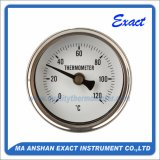 Tutto il termometro dell'acciaio inossidabile - termometro bimetallico - termometro di forno