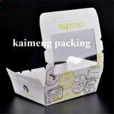 Contenitore impaccante a gettare bianco ambientale di carta kraft Con stampa (casella impaccante di carta)