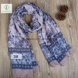 2018 новых леди мода вискоза Voile цветочным рисунком печать шарфом на заводе