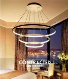 Luz de teto LED acrílica circular