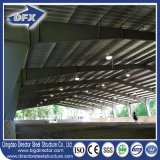 Подгонянное полуфабрикат стальное здание стальной структуры света широкой пяди