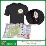 Etiqueta engomada fácil del traspaso térmico de la cáscara de Qingyi para la ropa