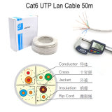 Netz-Kabel des LAN-CAT6 Kabel-UTP