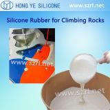 2 peças de borracha de silicone líquido para resina Docowing do Molde