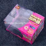 Pacote de venda a quente Caixa de plástico de plástico transparente para embalagem de cookies