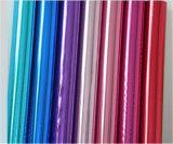 Hoja de sellado caliente de la película del traspaso térmico de los Multi-Colores del holograma del laser