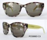 2017 Nouveau design de mode d'acétate de lunettes de soleil pour dames et de la femme