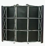 Le crochet sautent vers le haut le stand de contexte avec le drapeau estampé par PVC magnétique