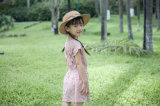夏の100%年の綿の子供の服装のフラワー・ガールの服