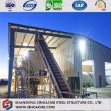 Gruppo di lavoro strutturale d'acciaio prefabbricato di lunga vita di disegno modulare da vendere