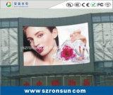P6mm impermeabilizzano la pubblicità della visualizzazione di LED esterna di colore completo del tabellone per le affissioni
