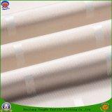 Textil hogar Pirorretardante impermeable cortinas de tela poliéster para cortinas de cristal