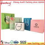 Laminierung kundenspezifischer kosmetischer Papiergeschenk-Beutel von der China-Fabrik