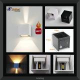 Luz ajustable de la pared de la venta 10W LED Luz ligera en IP65