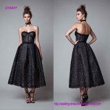 Schwarzes Kleid der Schatz-Prinzessin-Abend