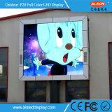 Pared video fija al aire libre a todo color de SMD P20 LED con Ce