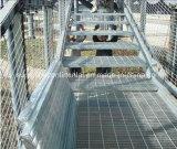 Pisada de escalera de acero galvanizada de la INMERSIÓN caliente