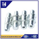 Pieds en aluminium à double rebord