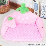 Lovely Soft Cartoon Pet Canapé Sponge Flocked Pillow Dog Cushions