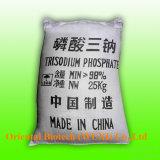 Кристаллы Tsp Trisodium фосфата качества еды бесцветные или белые
