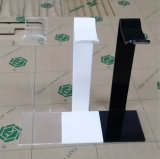 Crémaillère d'étalage acrylique de bureau d'écouteur d'écouteur