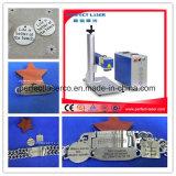 20W 30W Laser-Markierungs-Maschine des Schmucksache-Goldring-Plastikfarben-optische Minimetall3d für Uhren