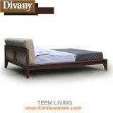 Colare la mobilia di cuoio sintetica della camera da letto