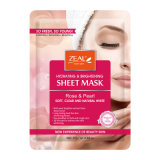 Masque facial blanc normal 25ml de Rose&Pearl d'ardeur