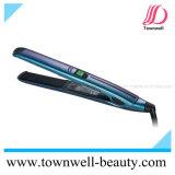 Professional Fast Heat Up Hair Straightener com placas flutuantes e placas de revestimento cerâmicas de turmalina