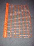 4 ' X 100 'のオレンジ安全バリアの塀