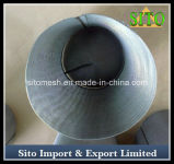 Filtro tecido do cilindro do engranzamento do aço inoxidável
