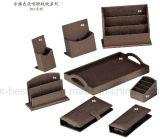 高品質のホテルの客室の皮革製品、ホテルの革文房具