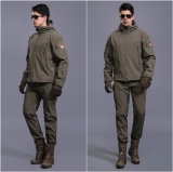 Vestito uniforme impermeabile militare multicolore tattico di mutanda + del rivestimento