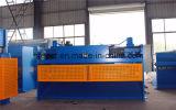 Machine de tonte hydraulique de plaque en acier en métal de faisceau d'oscillation