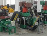 Máquina hidráulica del enladrillado del desecho de metal-- (SBJ-630)