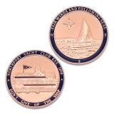 Moneta personalizzata del ricordo del premio della polizia