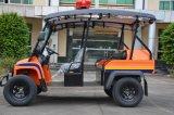 販売のための新しい遊園地の電気シャトルバス48V 5kw電気観光車