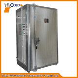 Una puerta de polvo industriales eléctrico pequeño horno de curado Pulver Herdeovn