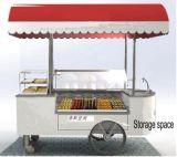 Vitrine de crème glacée italienne /Gelato charrettes Tricycle Trike vélo Wheeler congélateurs pour la vente