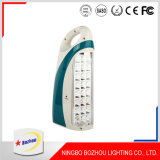 Venda por grosso de baixo preço personalizado LED de exterior da luz de emergência recarregável