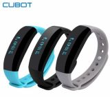 Cubot V2 Smart Band Monitor de frequência cardíaca GPS Sports Bracelet Fitness Tracker Pulso relógio de pulseira impermeável para Ios Android Smart Phone Black Color