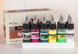12 Color de 40ml aguada conjunto del arte de la pintura